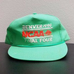 VTG Basketball Denver '90 NCAA Final Four Snap Hat